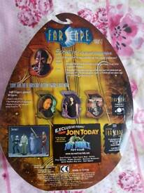 Farscape scorpius series 2 ultra rare action figure signed