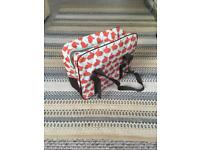 Anorak 'Kissing Rabbits' picnic coolbag