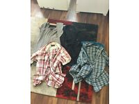 Men's size small designer shirts