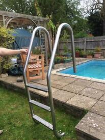 Aluminium swimming pool/ jetty stepa