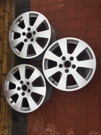 3 Alloy wheels