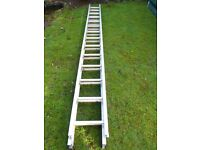Aluminium double extension ladders Extend to 7m