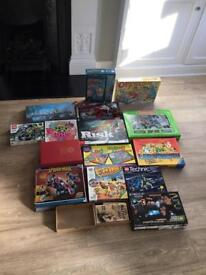 Bundle of games and lego. Some not used