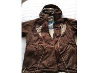 Ladies waterproof and wind proof ski jacket, size 16