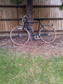 Vintage men bike