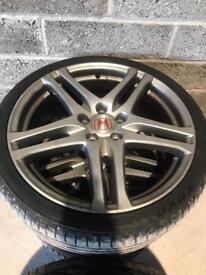 Honda Civic type r alloys