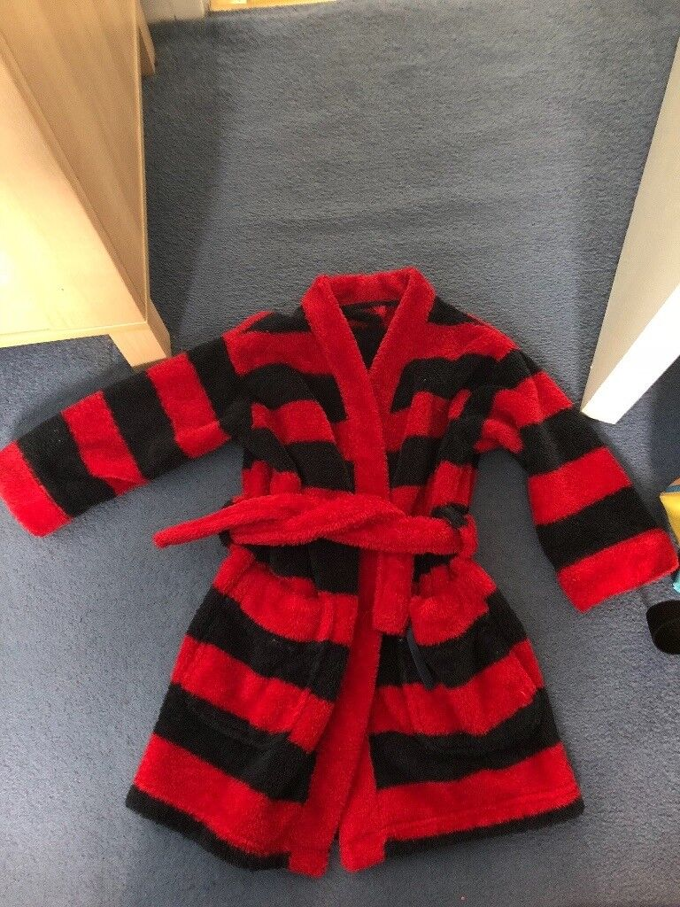 Boys 2-3 years dressing gown and 2-3 years rudolf costume