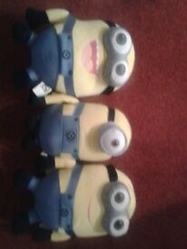 3 x Minions Dolls for sale.