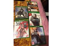Xbox one games for sale!