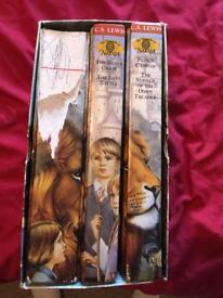 Complete chronicles of narnia, cs Lewis, book set