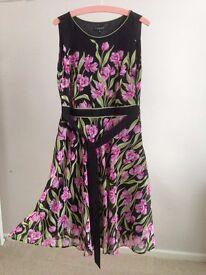 Black Tulip Dress- Ladies size 14