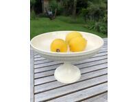 Wedgwood Cream cake stand / serving bowl