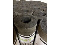 Shed Felt Rose Roofing Black Mineral Finish Kennel Hutch 10 m x 1m wide
