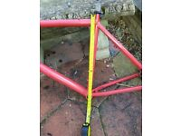 Aluminum frame MTB frame 19 inch with uncut white On-One 29er