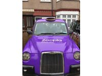 London taxi cab for sale tx4 silver spec