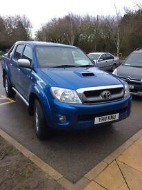 Toyota Hilux Invincible D4D 3litre Diesel Automatic, (not seen work)£11000 plus VAT