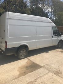 Ford transit t350l *non runner* spares or repairs LWB High top