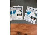 1pair of Ocean Colour Scene tickets Sat Dec 10th