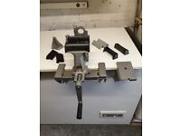 Vice and clamp set good as new