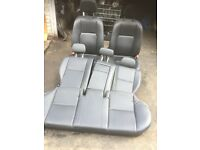 2010 MERCEDES C220 LEATHER INTERIOR FULL SET WITH DOOR CARDS