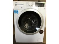 Beko Washer/Dryer WDX854313 0W - used twice, couple of months old