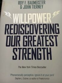 Willpower rediscovering our greatest strength book