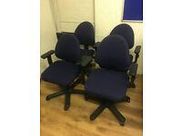 Heavy Duty IKEA Office Chairs x 4
