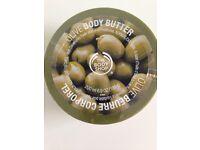 body shop 200ml olive body butter
