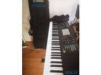 Keyboard Piano Synth Yamaha MODX7 76k+ CaseBag + Pedal + Piano Stand
