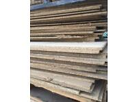 12mm chipboard half sheets 170 available