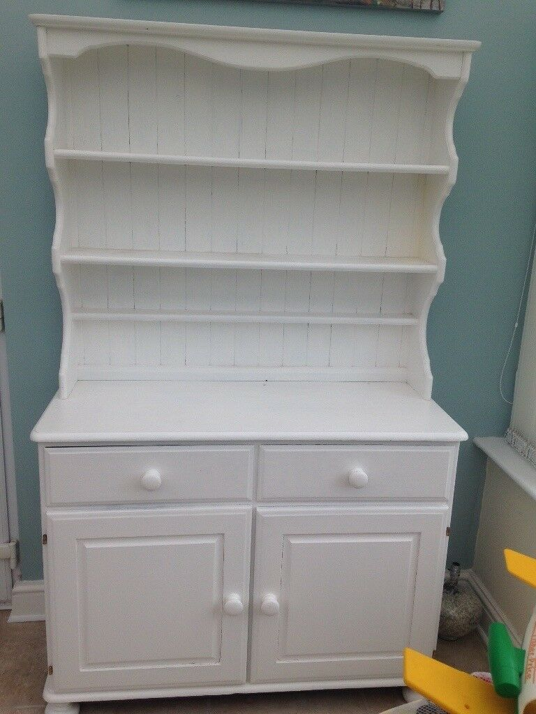 DUCAL SOLID PINE WELSH DRESSER. LOVELY CONDITION.