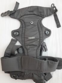 Baby Carrier - Tomy Freestyle Classic on grey. Good condition