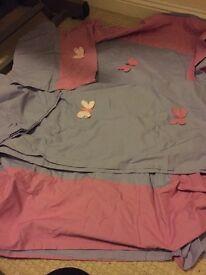 Quilt set & Curtains