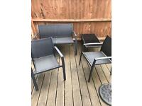 Brilliant condition garden table and chair set