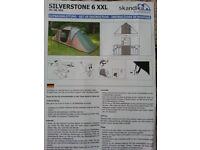 Skandika Siverstone 6 man tent