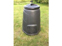 Blackwall 330 Litre Black Compost Converter, Composter, 2x Available