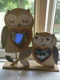 Owl photo frame