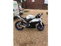 Yzf r 125 with lots of upgrades