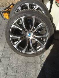 X5 - 6 alloys with tyres