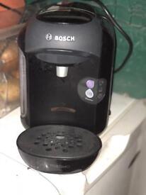 Tassimo machine and coffee