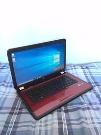 Red HP Pavilion G6 Laptop (i5, 6GB RAM, 750GB HD)