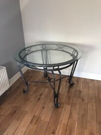 Glass table for free