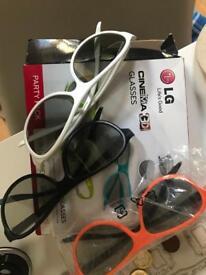 3 D glasses LG