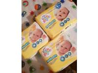 Brand new baby nappys
