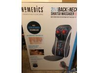 Homedics 2in1 back and neck Massager with heat