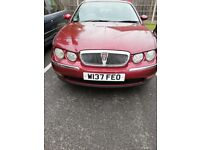 Automatic Rover 75 low milleage long mot, towbar