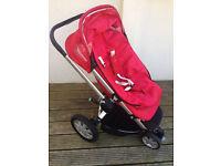 Quinny Buzz 3 Wheel Pushchair Red