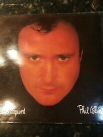 Phil Collins No Jacket required vinyl lp