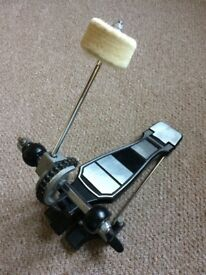 No brand bass drum pedal, used, good condition
