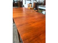 Mid Century Vintage McINTOSH T3 Teak Extending Dining Table